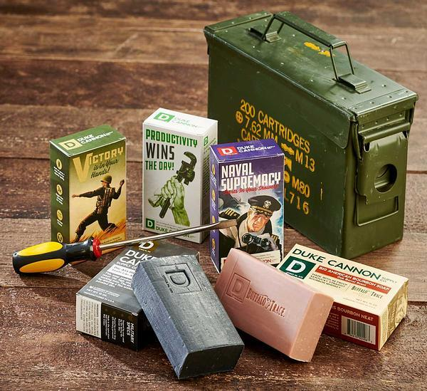 Sportsmans Soap and Ammo Box.