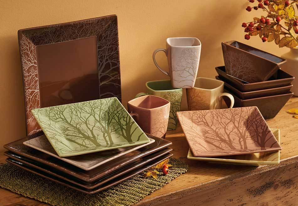<I>Among The Trees</i> Dinnerware Set