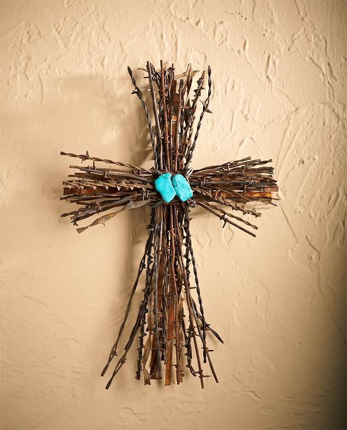 Barbed Wire Cross—Large.