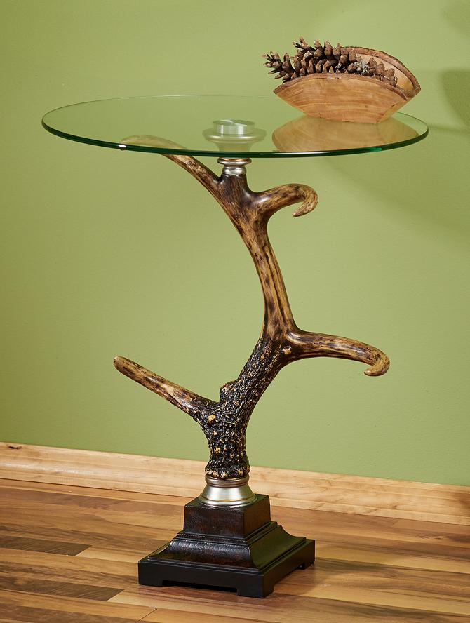 Stag Horn Antler Side Table