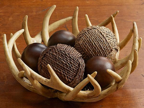Decorative Antler Basket
