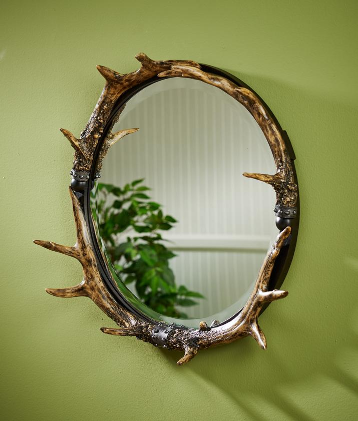 Antler Sculpted Mirror