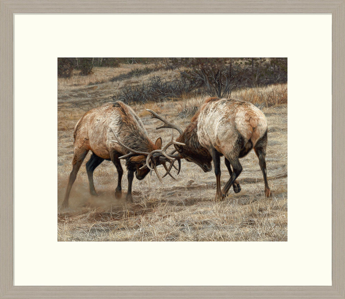 Anything for Love-Elk Art Collection