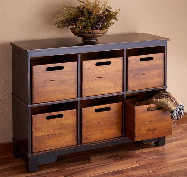 Hardwood Leisure Cabinet