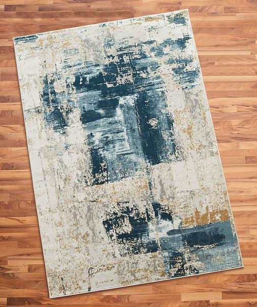 Artisan Spackle Blue Area Rug