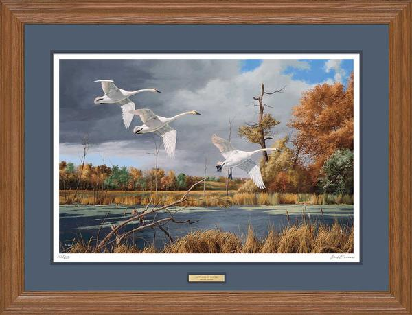 Autumn at Baker-Swans Art Collection