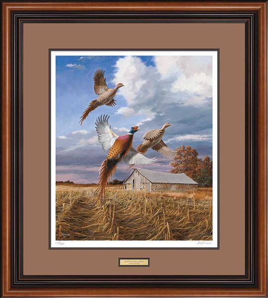 Autumn Brilliance-Pheasants Art Collection