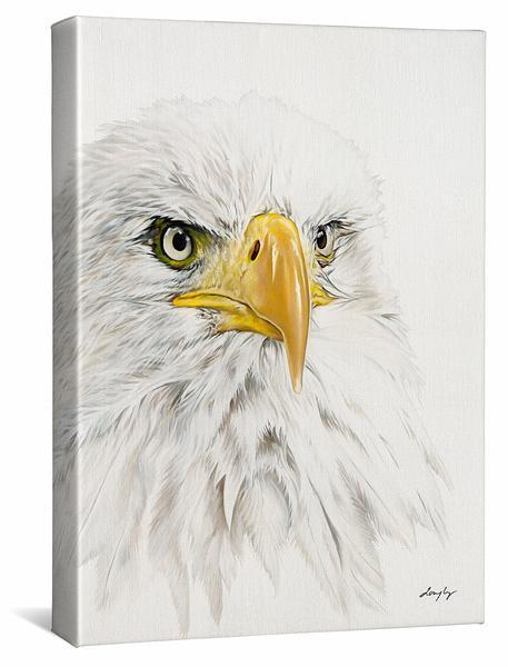 <I>Bald Eagle</i> Gallery Wrapped Canvas