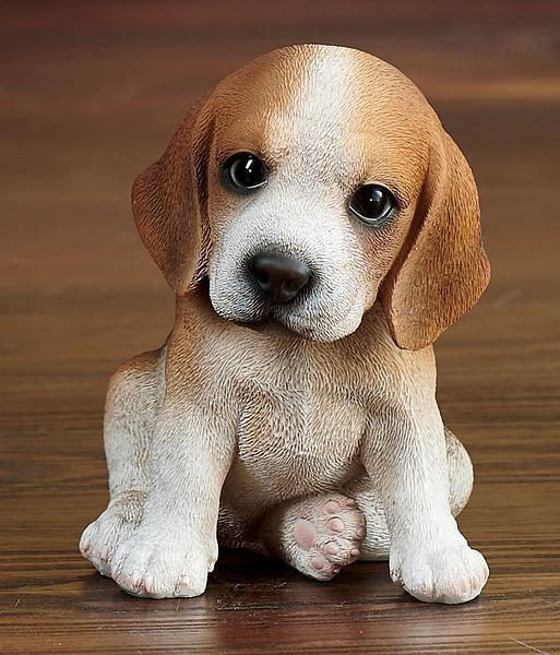 Beagle Puppy Sculpture