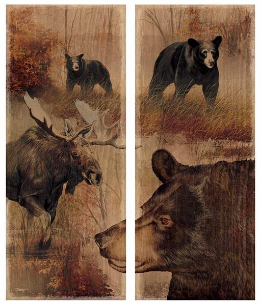Backwoods—Bear & Moose