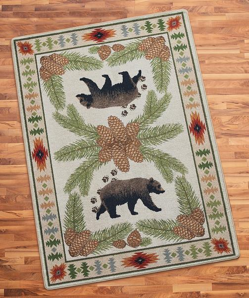Bear Camp Area Rug