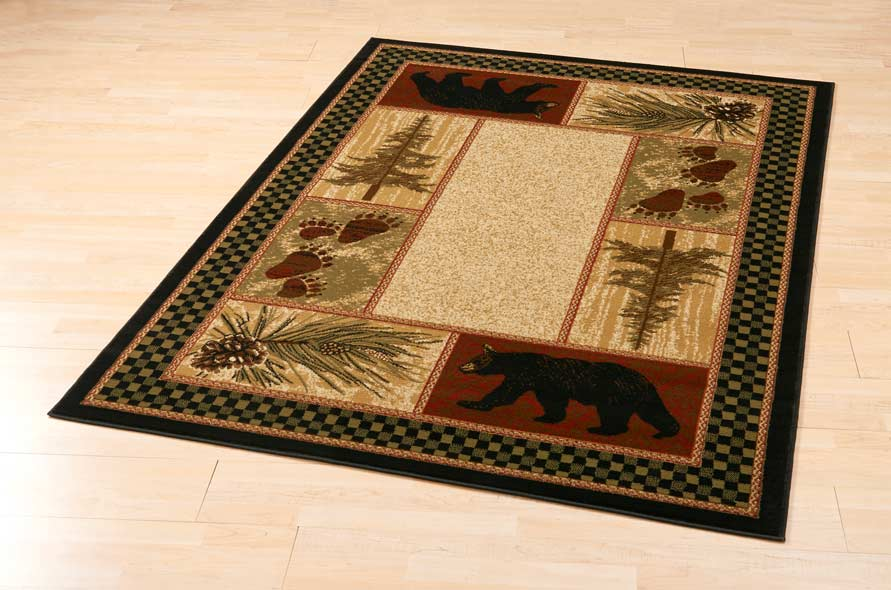 Bear Forest Area Rug Collection
