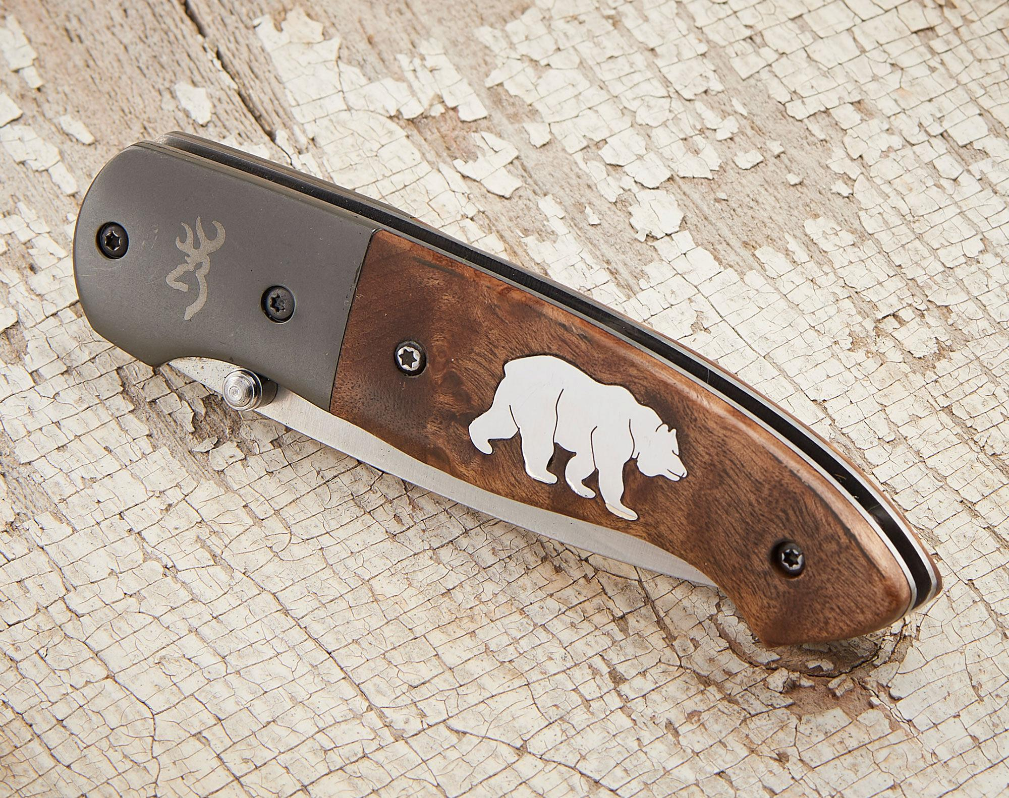 Bear Pocket Knife