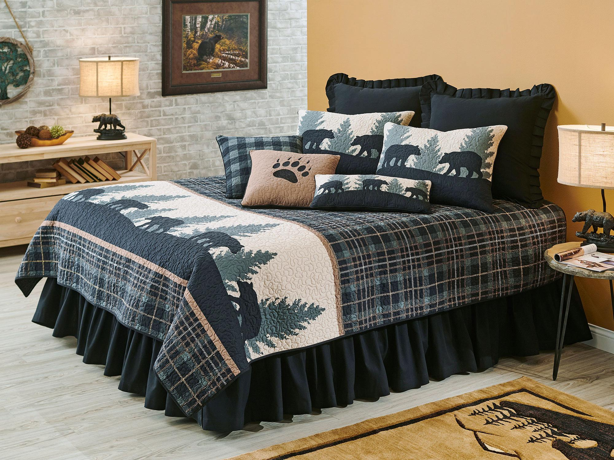 Walk the Path-Bear Bedding Collection