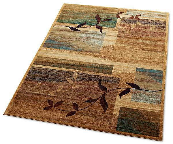 Nature's Abstract Area Rug Collection