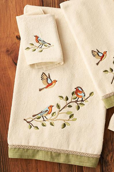 Treetop Choir Bath Towel