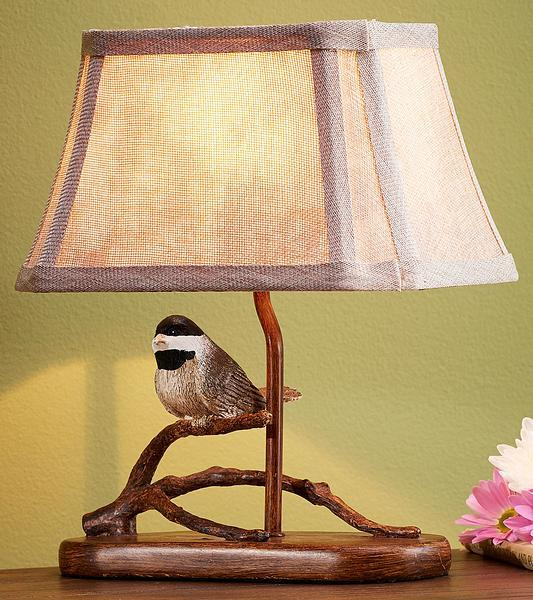Perched Chickadee.
