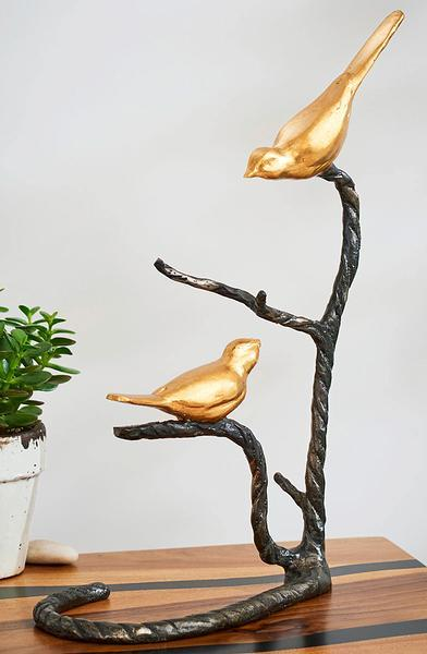 Birds On A Branch Sculpture