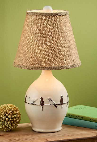 Birds Of A Feather Table & Floor Lamp