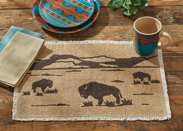 Bison Placemats