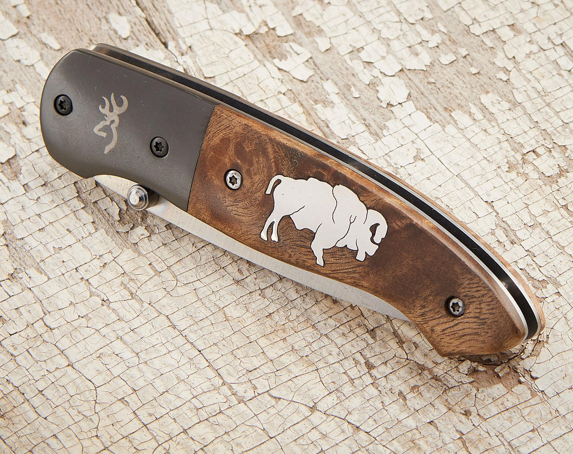 Bison Pocket Knife