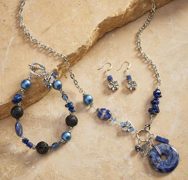 Blue Butterfly Jewelry Collection