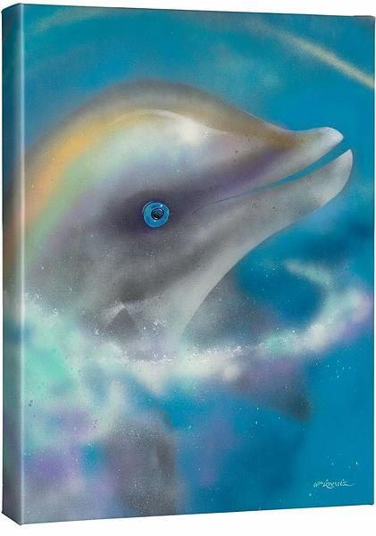 Blue Eyes—Dolphin.