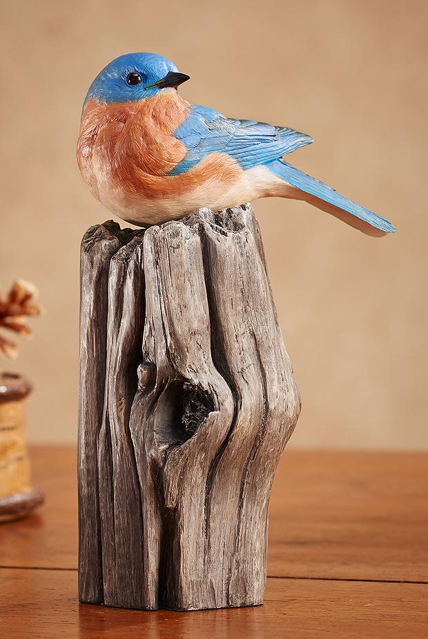 Bluebird Sculpture