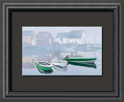 Tranquility in the Cove Art Collection
