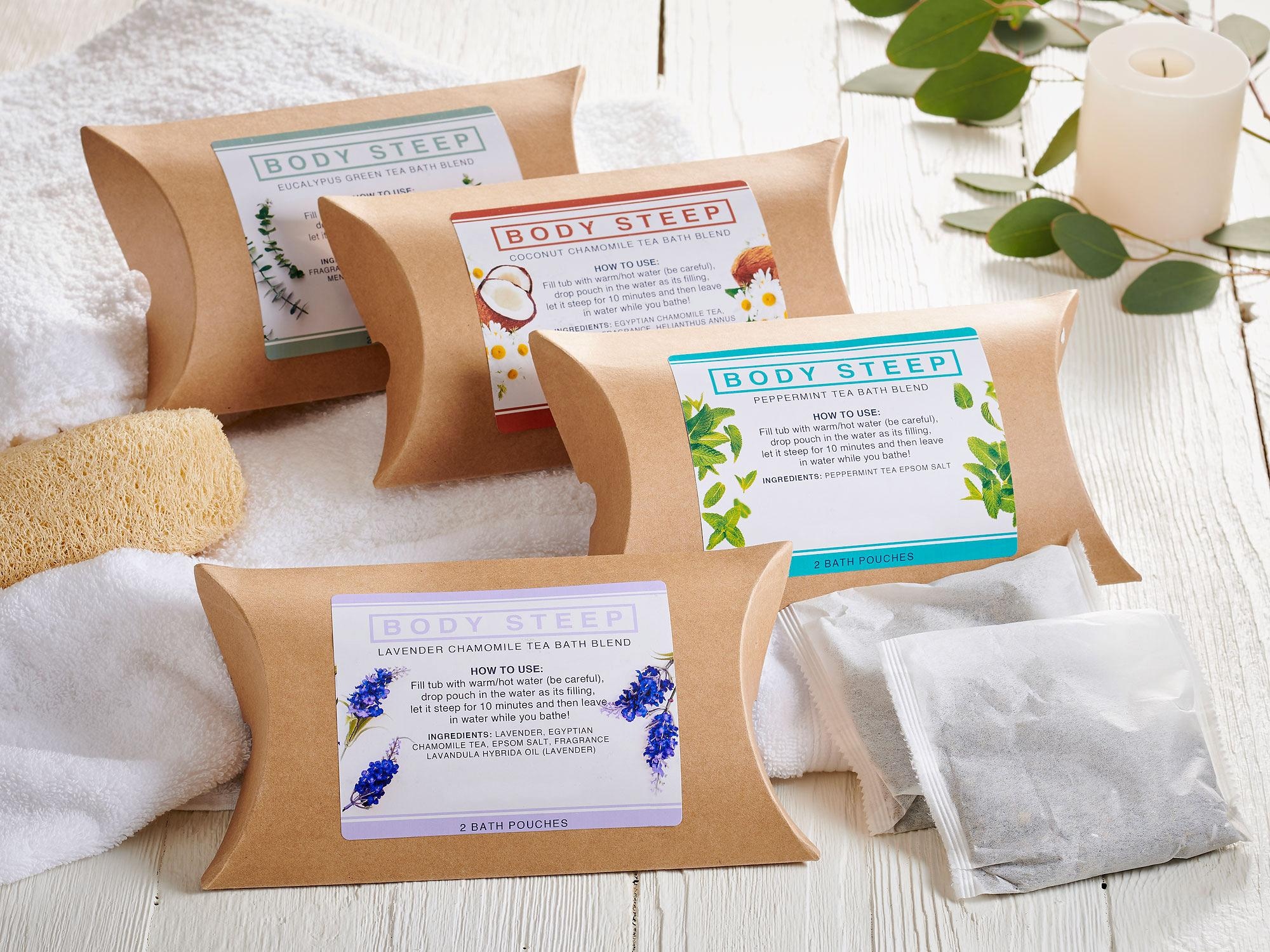 Steep & Breath Easy Bath Gift Set