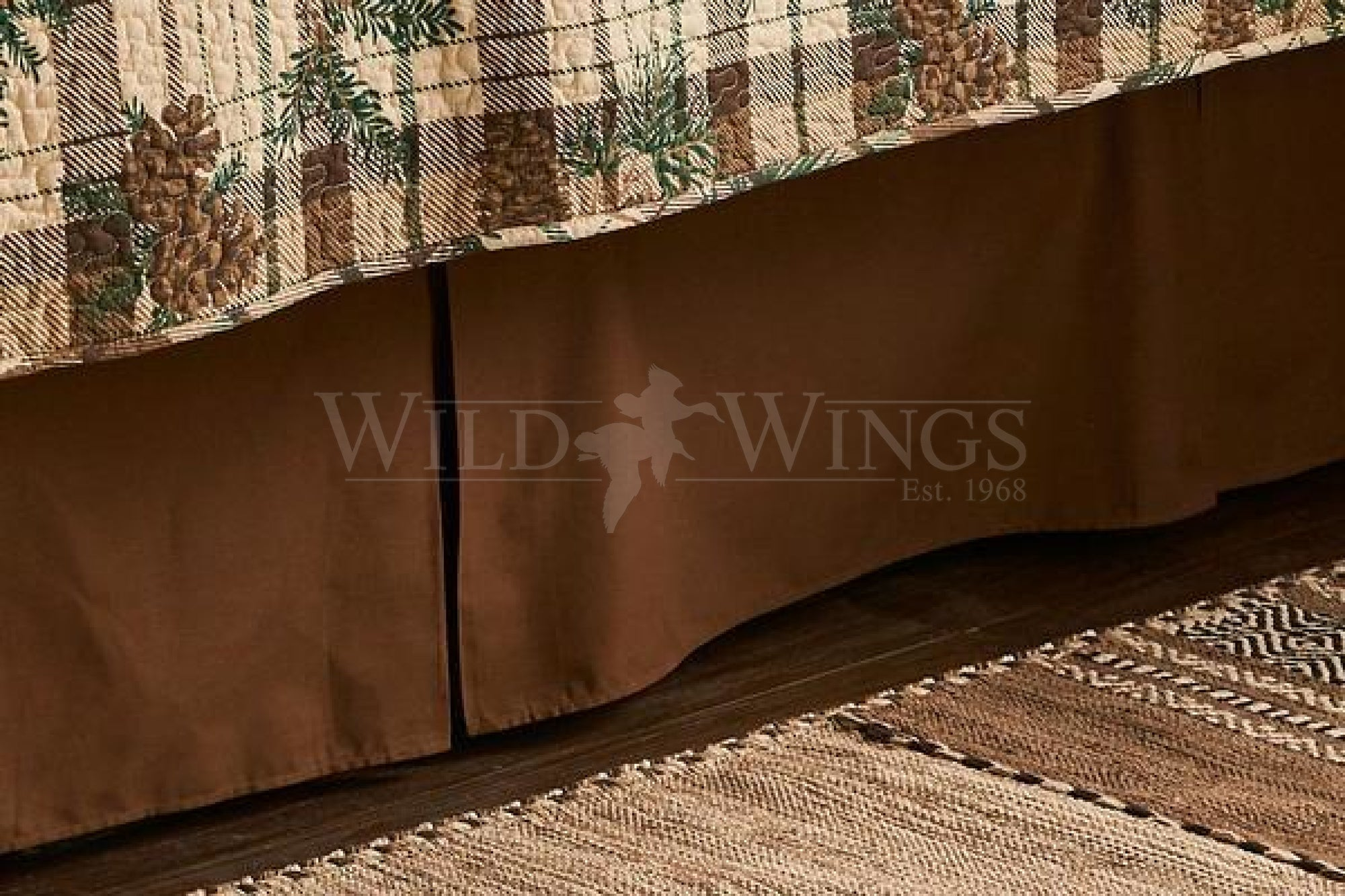 Brown Bedskirt (Queen)