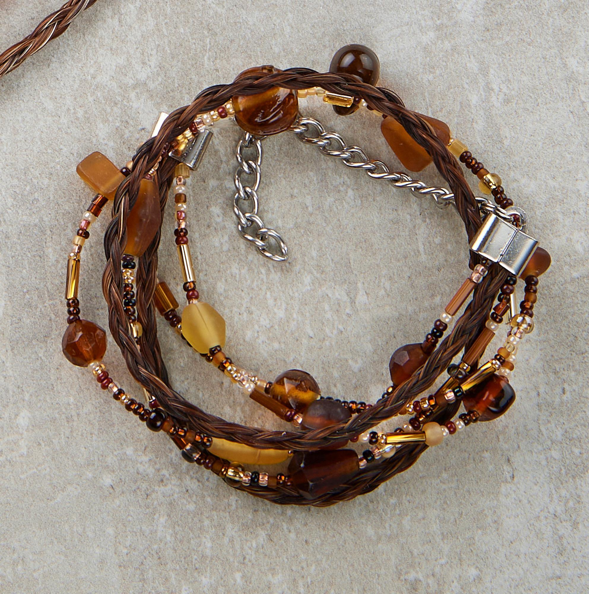 Brown Double Concho Bracelet