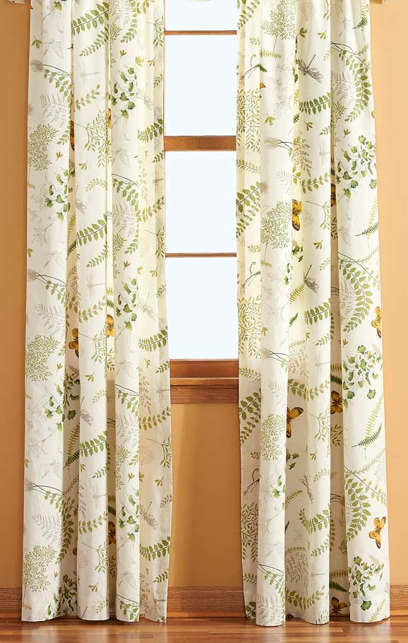 Butterfly Botanical Drapes
