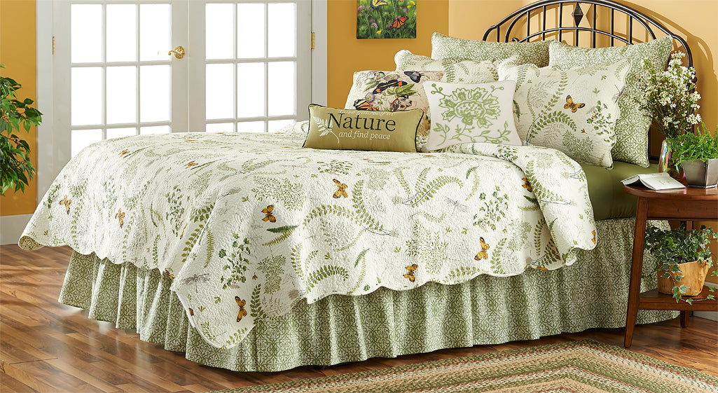 Butterfly Botanical Bedding Set
