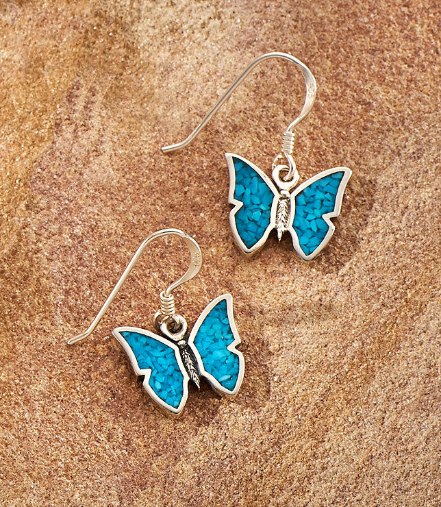 Turquoise Butterfly.