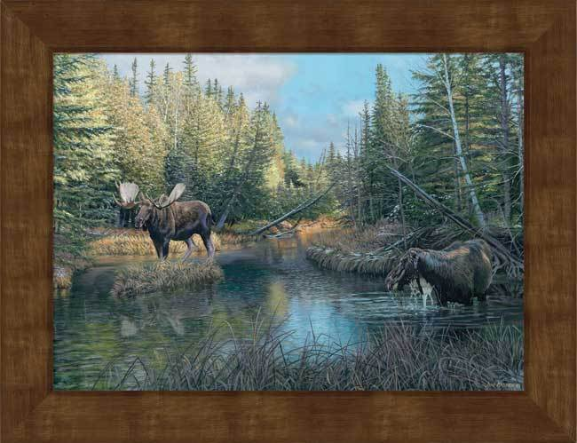 <i>Caldwell Creek Bull&mdash;Moose</i>