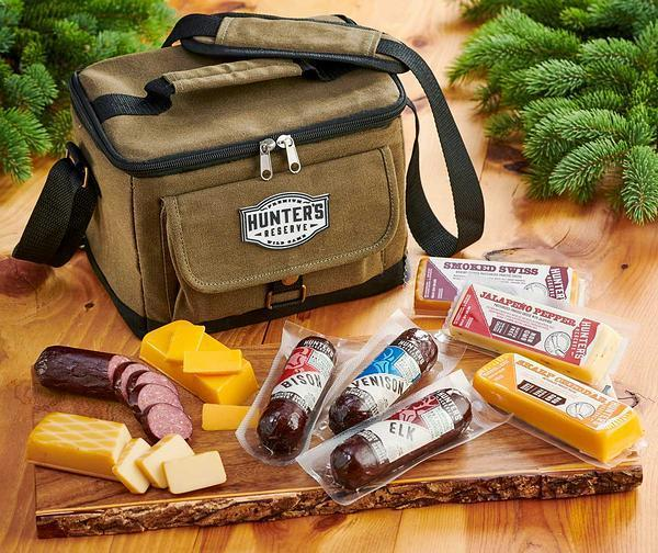 Twill Cooler Sausage And Cheese Gift Set
