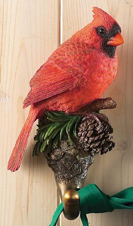 Cardinal Bird Wall Hook