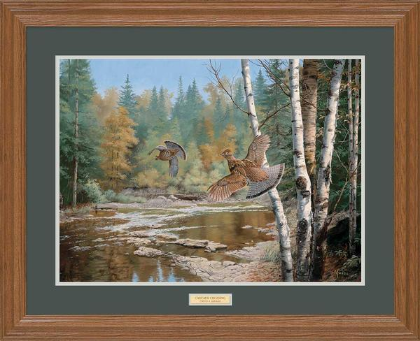 <i>Cascade Crossing&mdash;Ruffed Grouse</i>