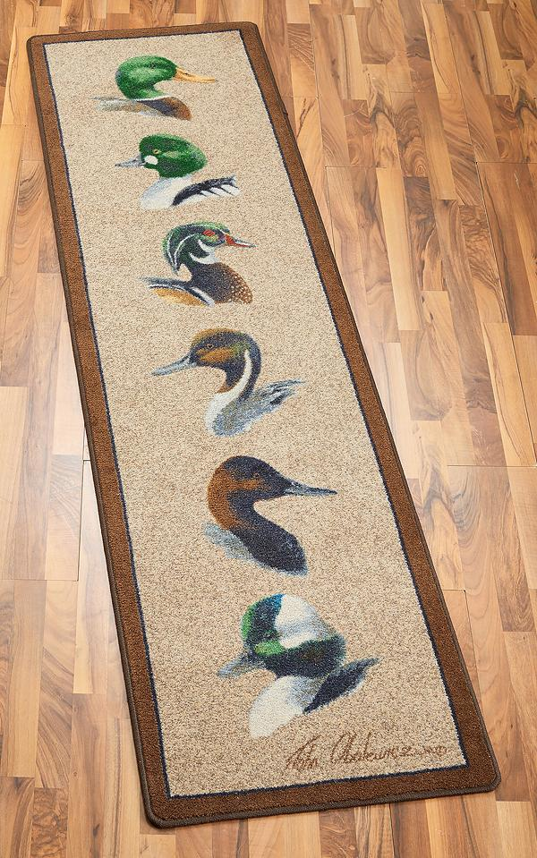 Chesapeake Bay Ducks Area Rug