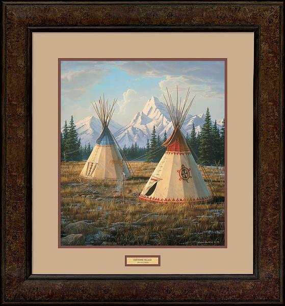 Cheyenne Village Art Collection