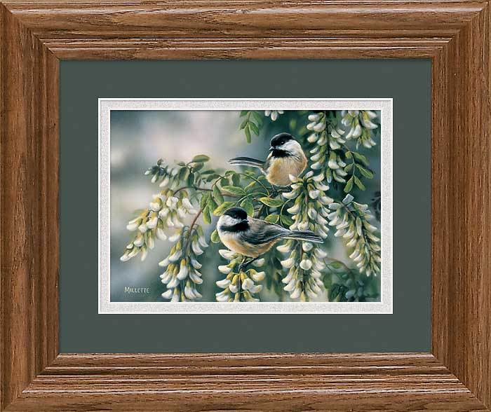 Springtime Jewels—Chickadees