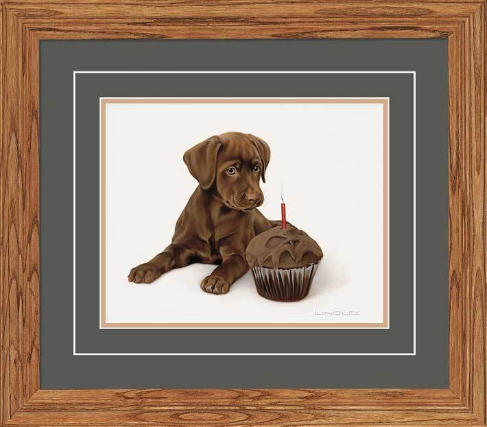 Triple Chocolate Birthday—Puppy.