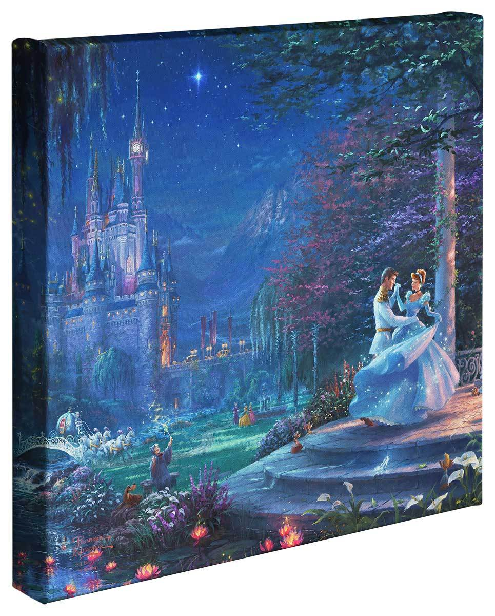 <I>Cinderella Dancing In The Starlight</i> Gallery Wrapped Canvas