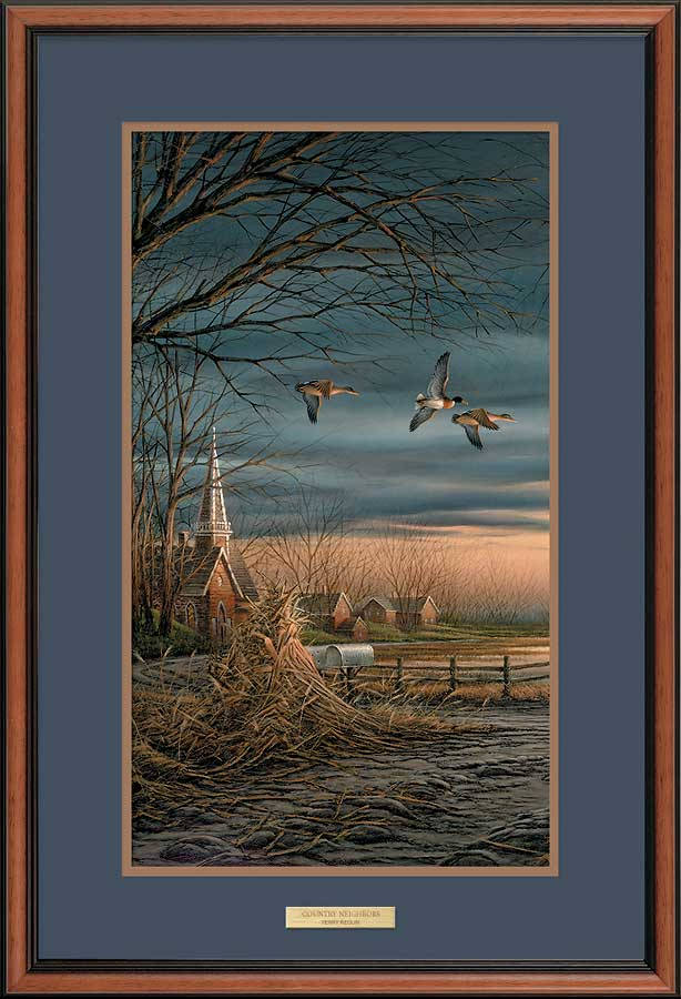 Country Neighbors Art Collection