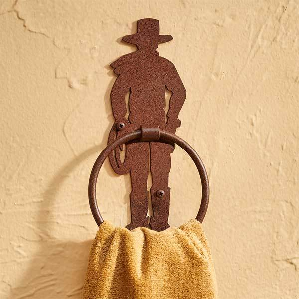 Cowboy Towel Ring