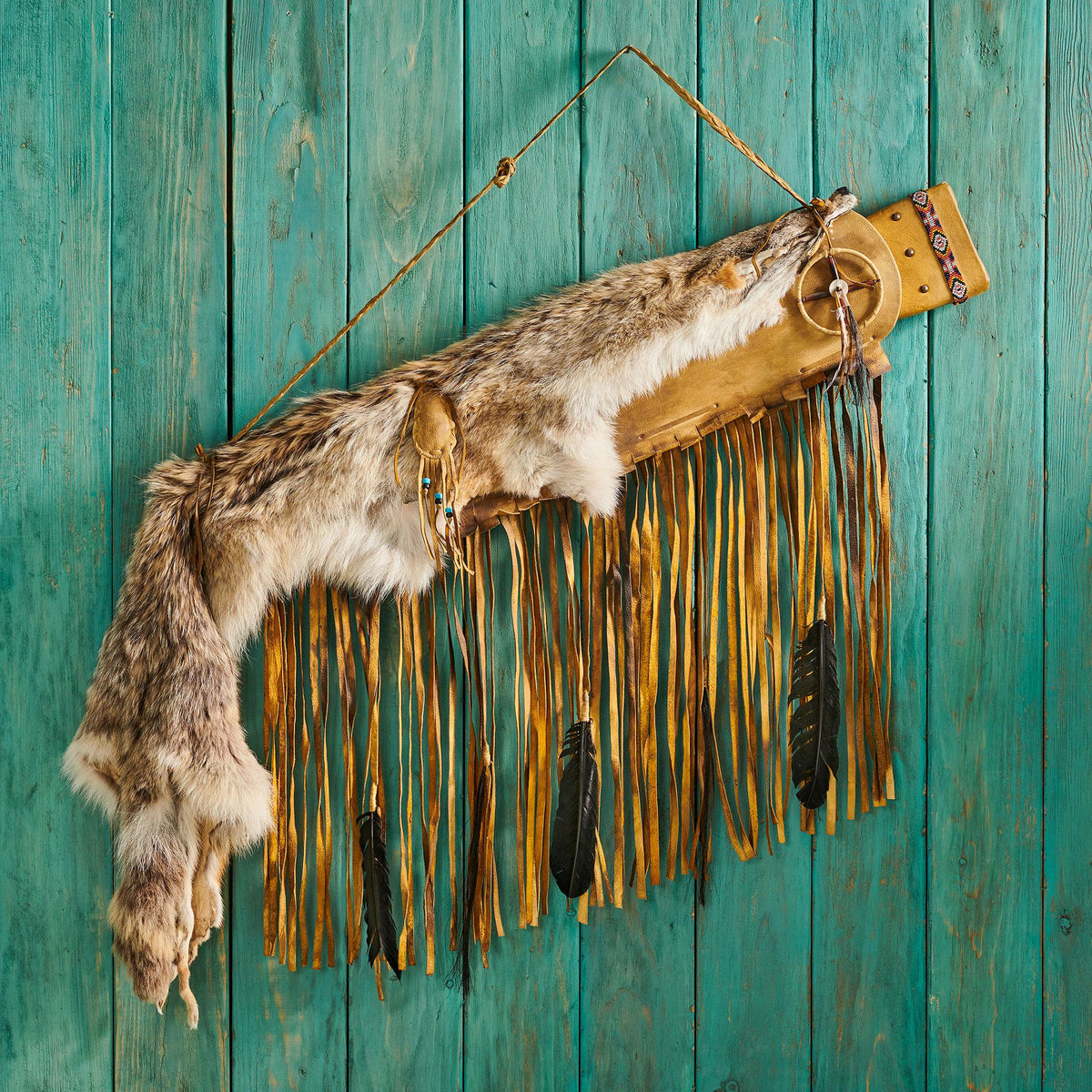 Coyote Fur Antique Leather.