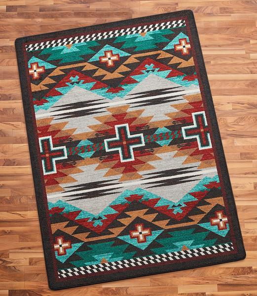 Cross Trading Blanket Area Rug