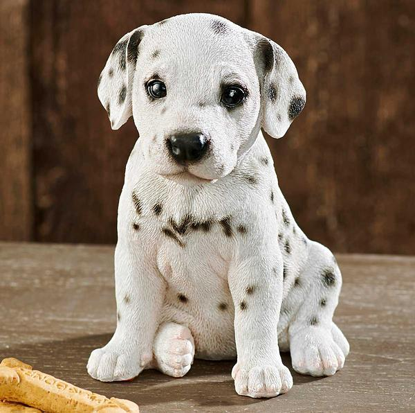Dalmatian Puppy Sculpture