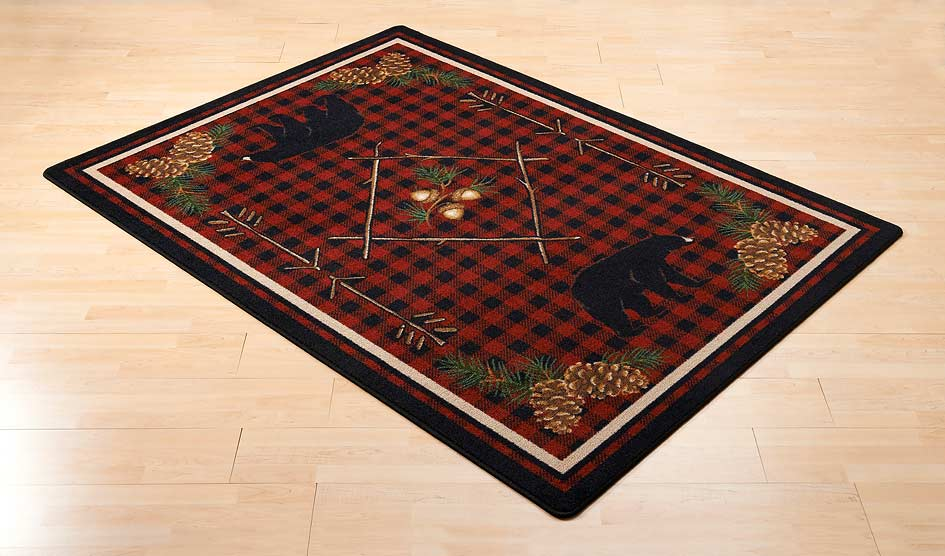 Deep Woods Area Rug Collection